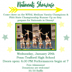 Penn-Trafford Competitive Cheer Nationals Showcase