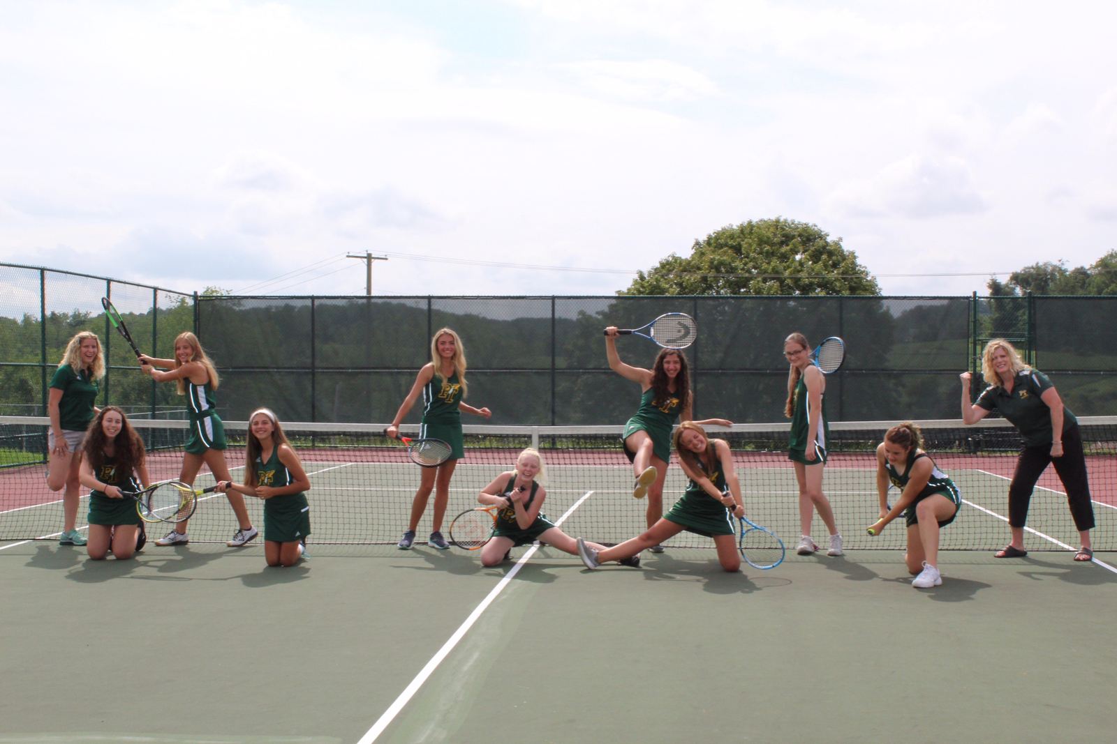 Senior Day, Girls Tennis