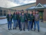 Rifle Team Takes 5th Place At WPIAL Team Championships