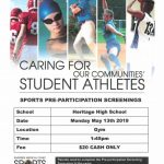 Sports Clinic – May 13th, 2019