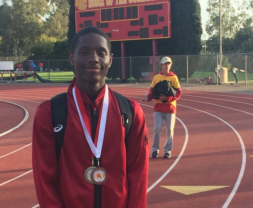 Deondre Ruth is headed to the CIF State Track Meet!!!