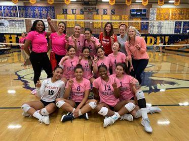 Girls Volleyball Defeats John W. North