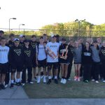 Viking Tennis Delayed at State Tournament