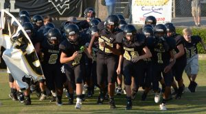 8th grade football vs. Rutledge