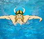 Viking Swim Qualify Men's Relays For State In Auburn
