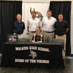 Mary Ann Wolfe Signs With Wallace