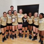 9th Grade Volleyball Wins the Scott Crump Toyota Tournament