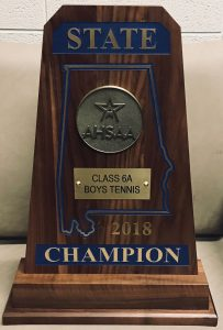 2018 State Tennis Tournament