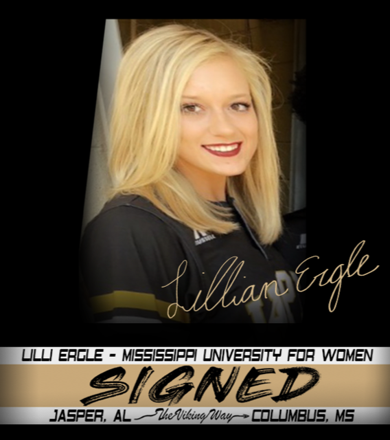 Lillian Ergle is Signed….. The W