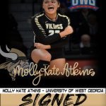 Molly Kate Atkins is Signed…. University of West Georgia