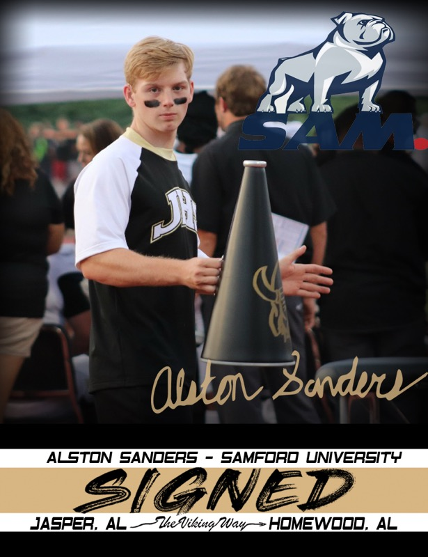 Alston Sanders is Signed…. Samford University