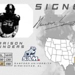 Harrison Saunders is Signed…… Samford University