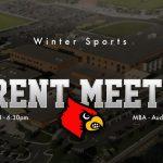 Winter Parent Meeting – 10/28