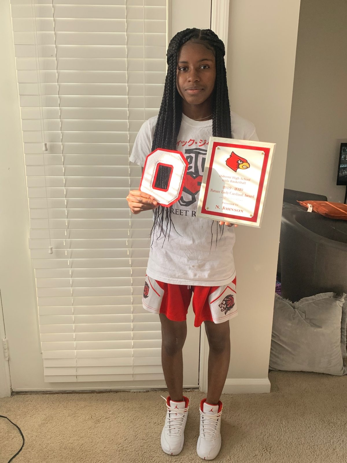 2019-2020 Future Lady Cardinal Award Nevaeh Johnson
