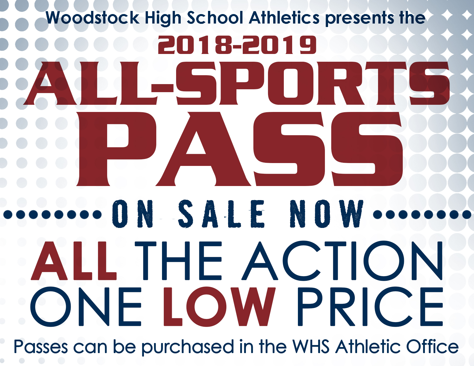 All Sports Passes On Sale Now!