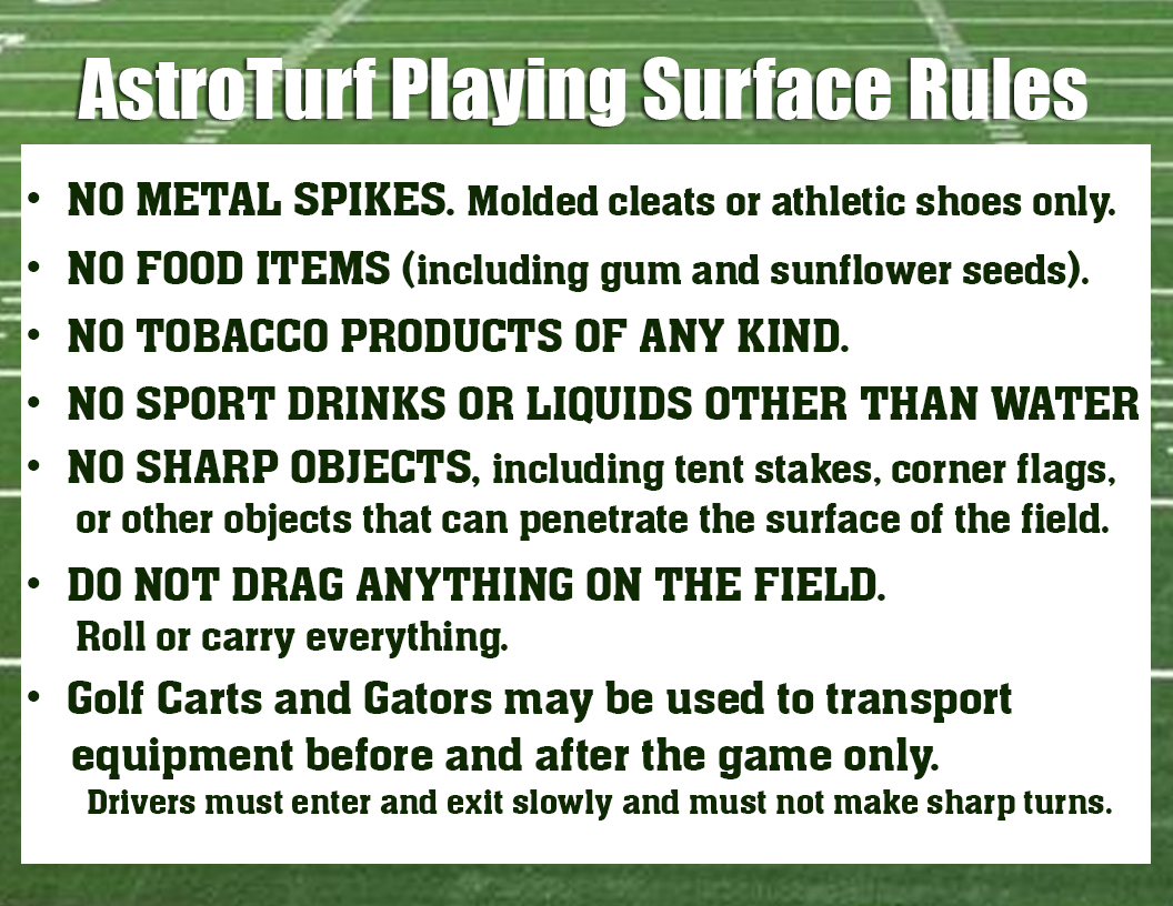 AstroTurf Surface Rules