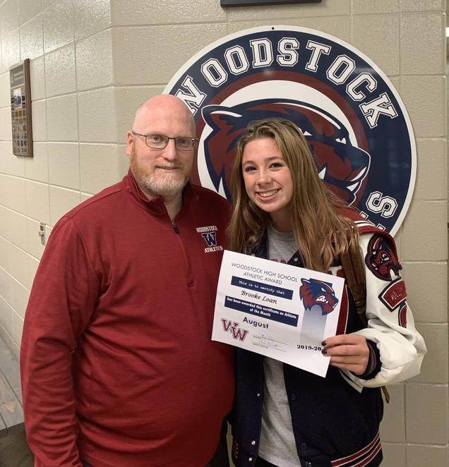 Congrats – Female Athlete of the Month