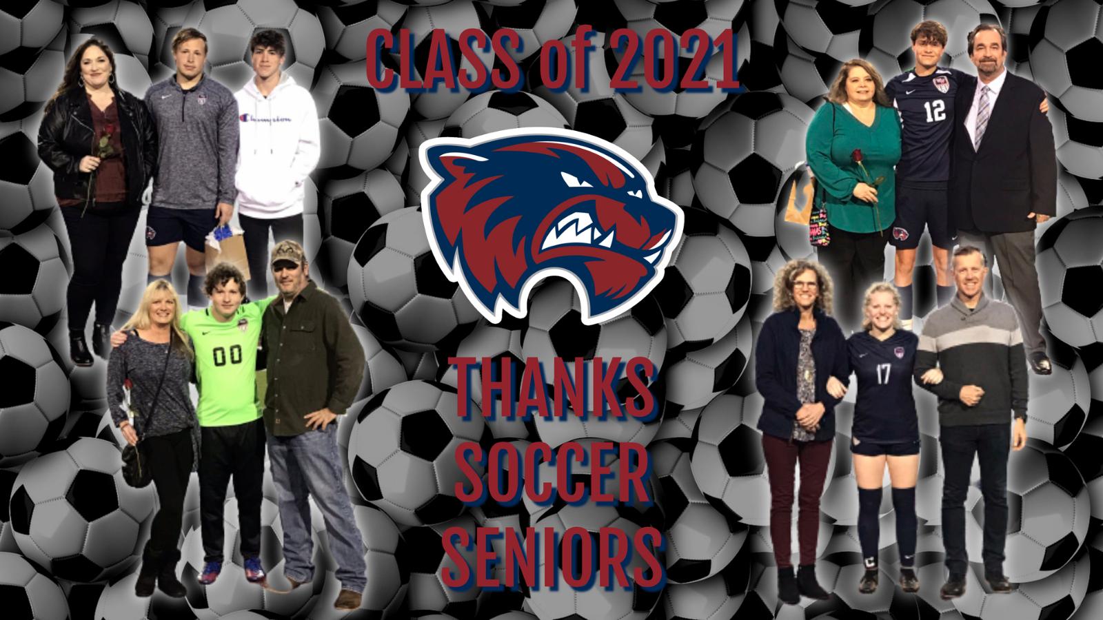 Thanks Soccer Seniors