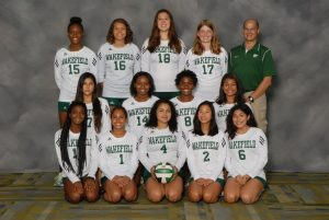 2015 JV Volleyball Team