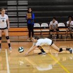 Wakefield High School Girls Varsity Volleyball falls to Edison 3-1
