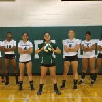 Wakefield High School Girls Varsity Volleyball falls to Marshall 3-0