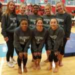 Wakefield High School Girls Varsity Gymnastics finishes 2nd place