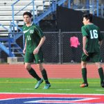 Wakefield High School Boys Junior Varsity Soccer beat West Potomac High School 2-1