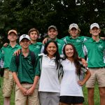 Wakefield High School Coed Varsity Golf finishes 2nd place