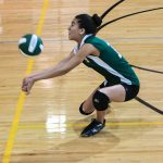 Wakefield High School Girls Freshman Volleyball beat Falls Church High School 2-1
