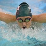 Girls Varsity Swimming falls to Thomas A Edison 180 – 131