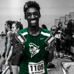 CONGRATS XAVIER TAYLOR RUNNING AT NEW BALANCE INDOOR TRACK MEET