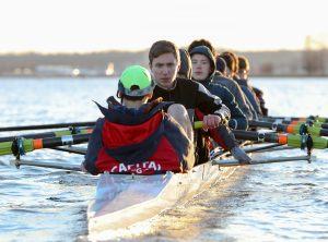 JV MEN'S ROWING – LEARNING HOW TO ROW