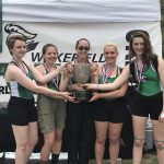 Women's Crew Novice – 4 Team Takes 1st First Place in State Competition!