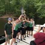 Men's Crew Novice 8 Boat Takes 1st Place in State Competition