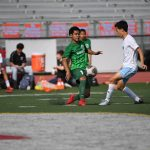 BOYS SOCCER PULLS AN UPSET IN DISTRICT PLAYOFFS