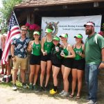 CREW: GIRLS LIGHTWEIGHT 4 EARNS GOLD at STATE  and BRONZE AT NATIONALS