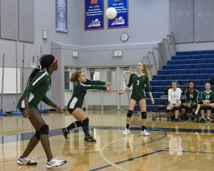 JV Volleyball . . . Ready, Set, Go!
