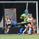 Girls Varsity Field Hockey beats West Potomac 5 – 4