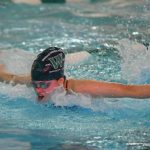 Wakefield Girls Swim team falls to Justice, 174 – 134