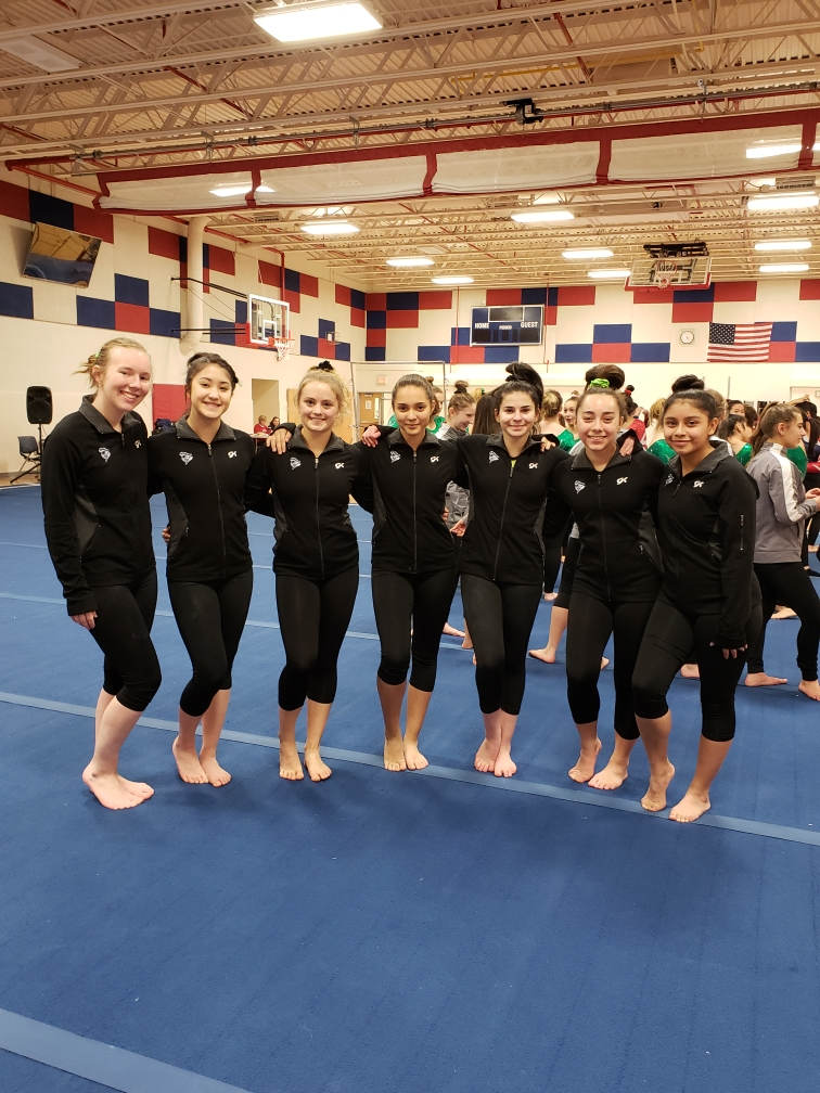 Wakefield Gymnastics Wins First Meet