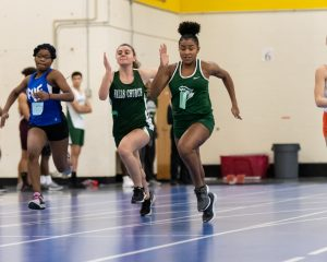 To Jump, To Throw, To Hurdle, To Run is to Run Indoor Track!