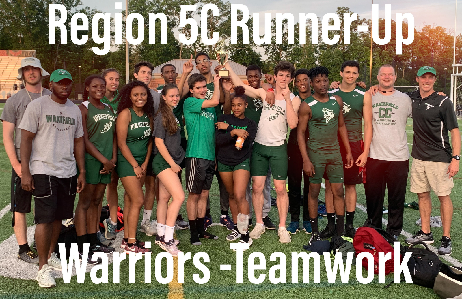 Congrats Boys Track – Region 5C Runner-Up!