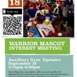 WARRIOR MASCOT TRYOUTS COMING TO WAKEFIELD