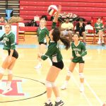Warriors Varsity Volleyball falls to Marshall in 4 sets