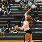 Warriors Volleyball wins over Falls Church 3 – 1