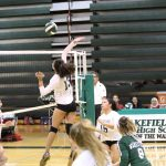 Warriors Varsity Volleyball drops close match to Justice