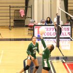 Wakefield Varsity Volleyball beats Jefferson 3 – 1