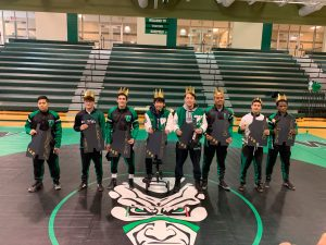 Senior Night for Warriors Wrestling Team