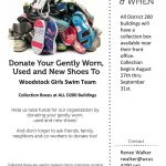 Woodstock Girls Swim Shoes Donation