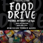 Tackling Hunger vs. RB (Food Drive Night)
